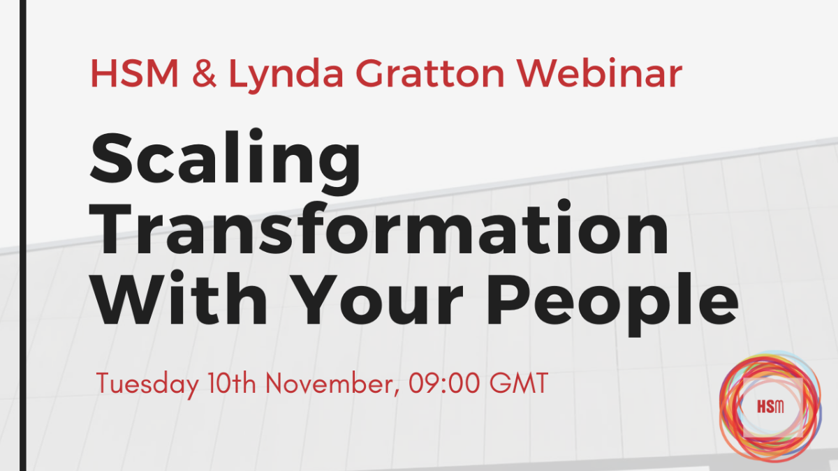 Webinar: Scaling Transformation With Your People|WORKSTYLE RESEARCH LAB.|ワークスタイルケンキュウジョ.